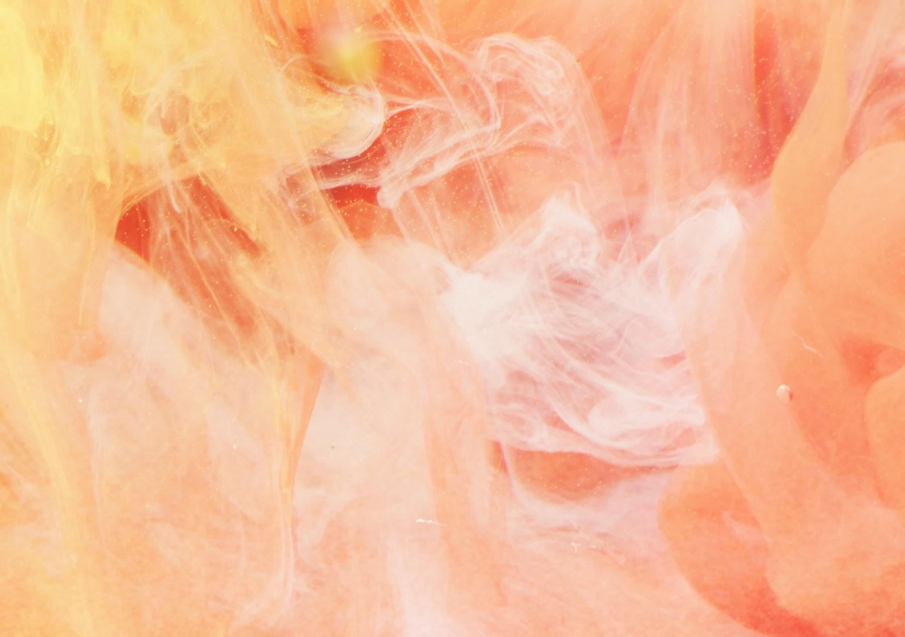 Wandbild Creme